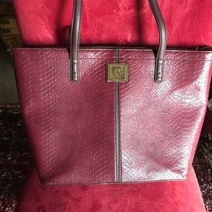 🥀Large Anne Klein tote🥀